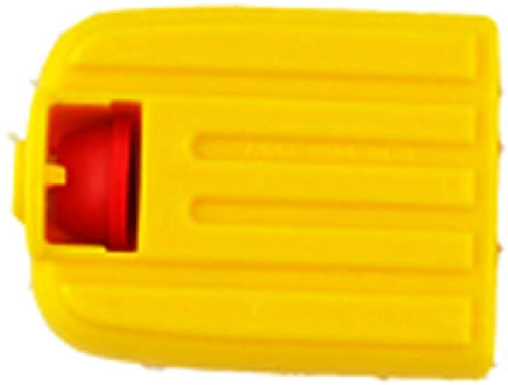 Replacement Part for Fisher-Price Tough Trike - DMW97 ~ Plus Many Other Models ~ Replacement Single Yellow Pedal with Red Retainer