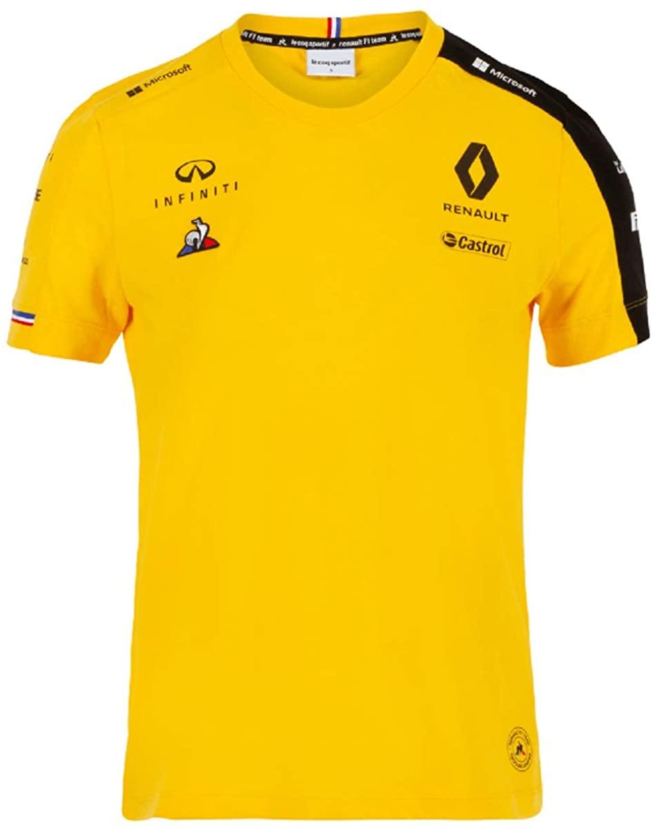 Renault F1 2019 Team Women's T-Shirt Yellow