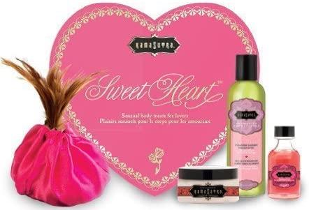 Kama Sutra Valentines Day Kit Massage Set (Sweet Heart Strawberry) by Kama Sutra