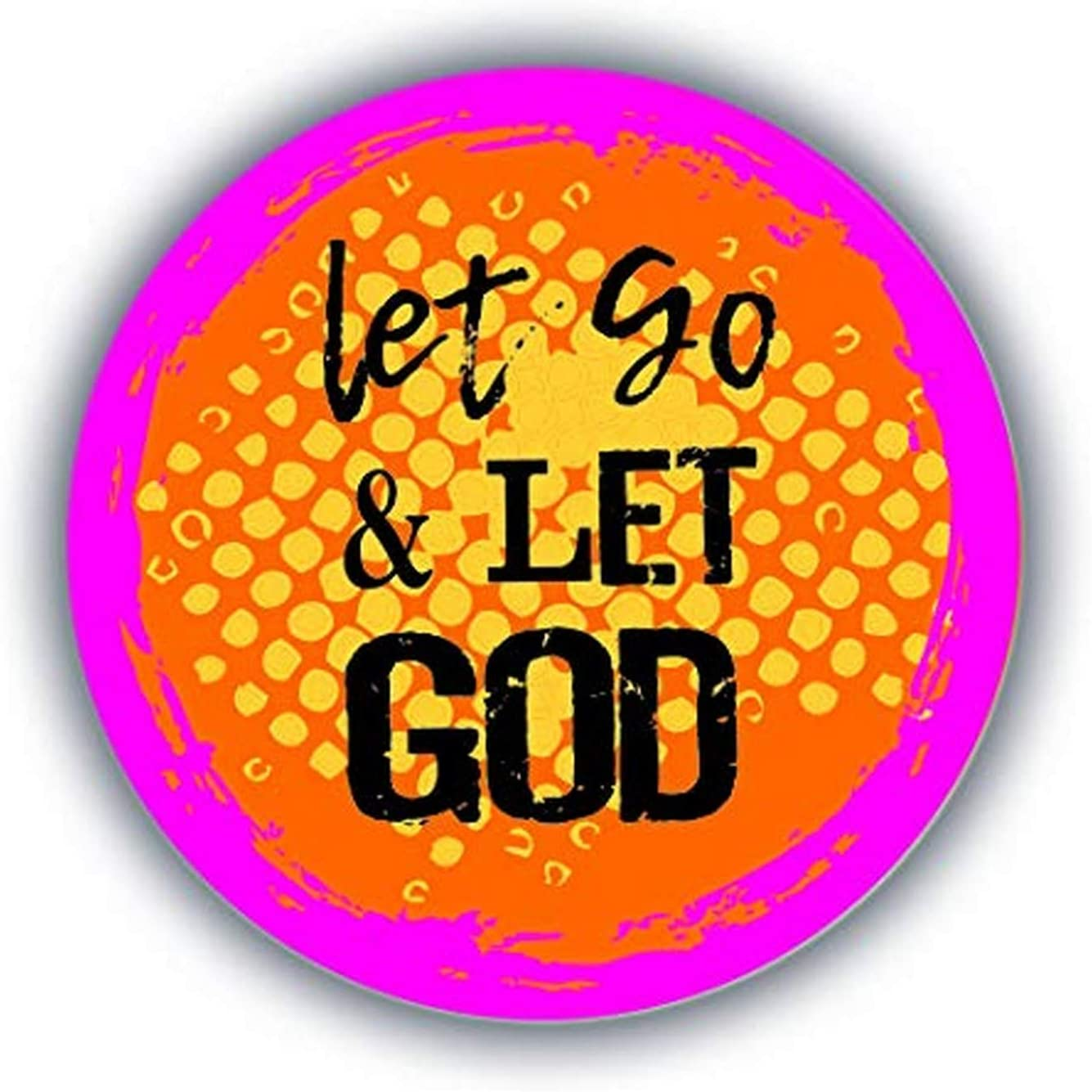Cathedral Art Car Vent Clip-Let Go, One Size, Multicolored