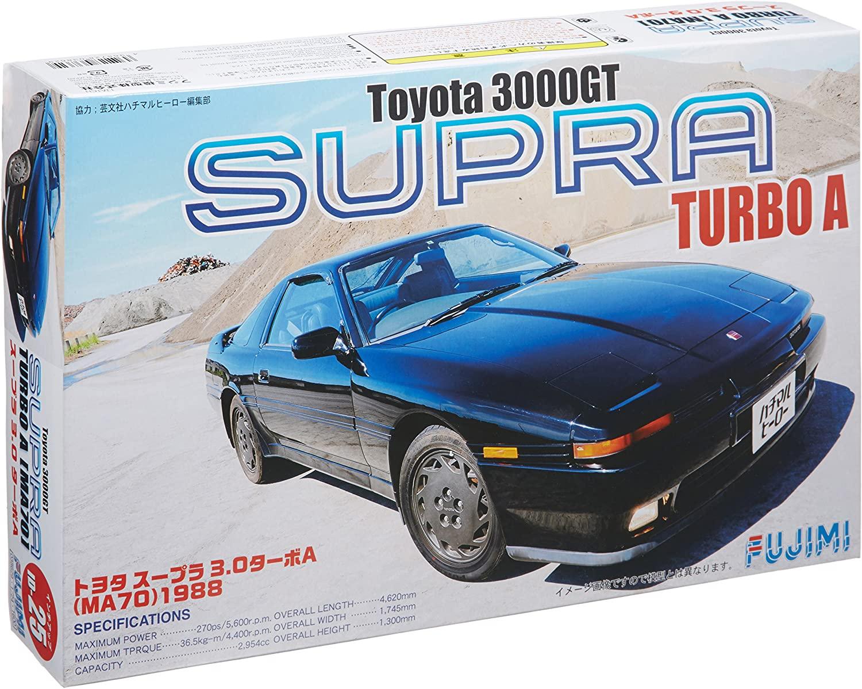 Toyota 3000GT SUPRA Turbo A MA70 1988 1/24 inch up series No. 025