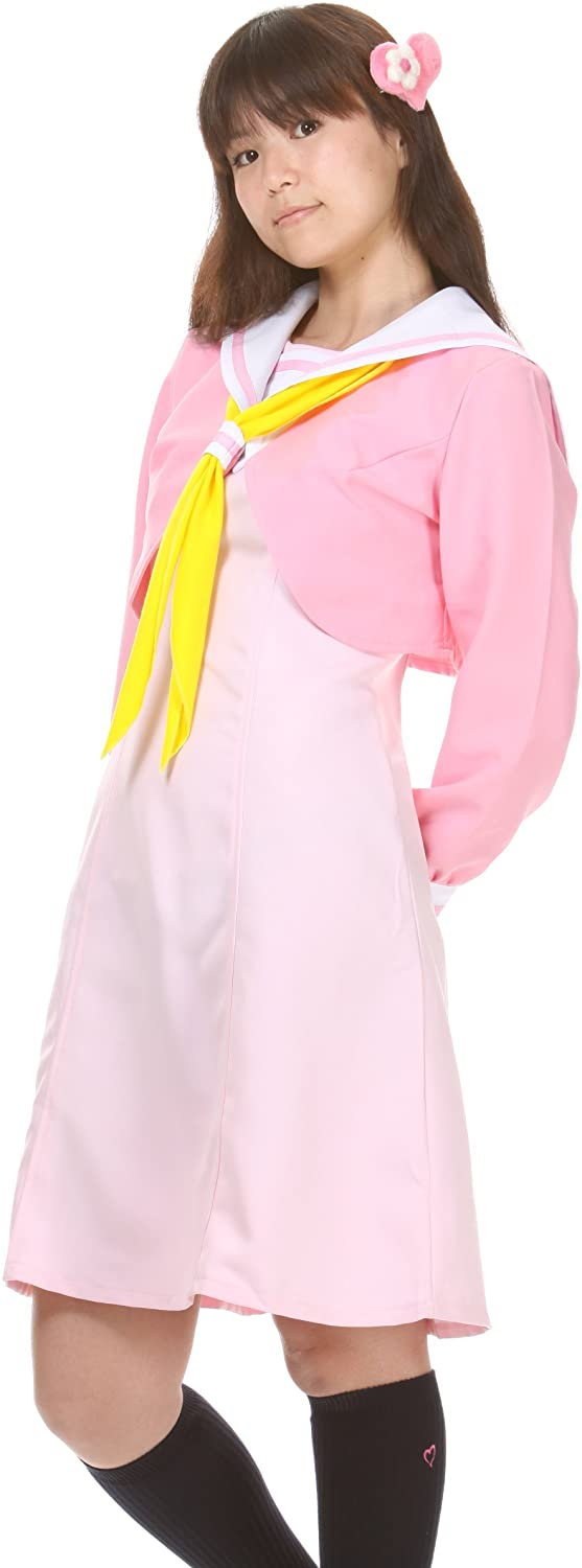 Lolita Charm High School Uniform Long Sleeve Pink