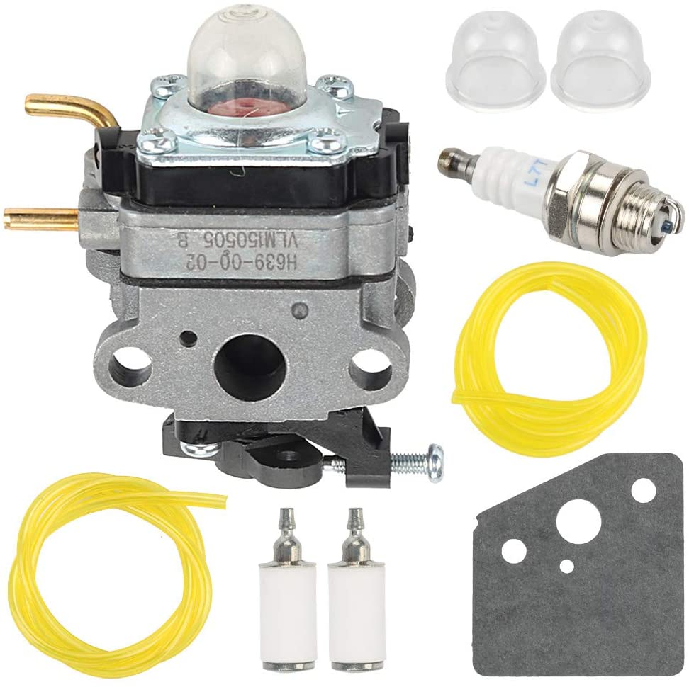 Panari 753-06258A Carburetor Carb for Ryobi 307160001 RY252CS RY253SS RY251PH RY254BC 2 Cycle 25cc Trimmer Craftsman Cultivator