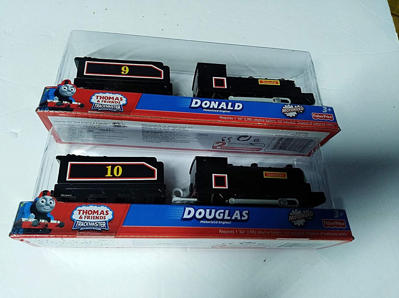 Gulliane Thomas Trackmaster Donald and Douglas Tr ains