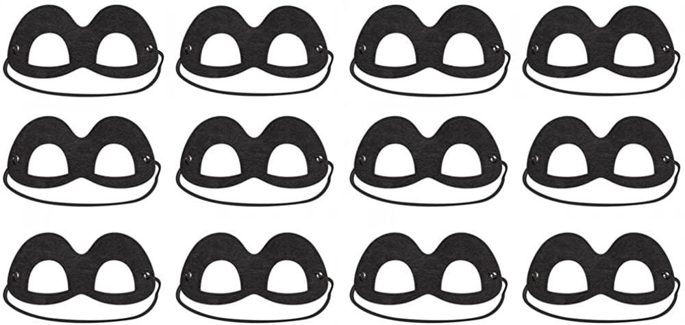 Disney/Pixar Incredibles 2 Black Felt Eye Mask - 12 Pack