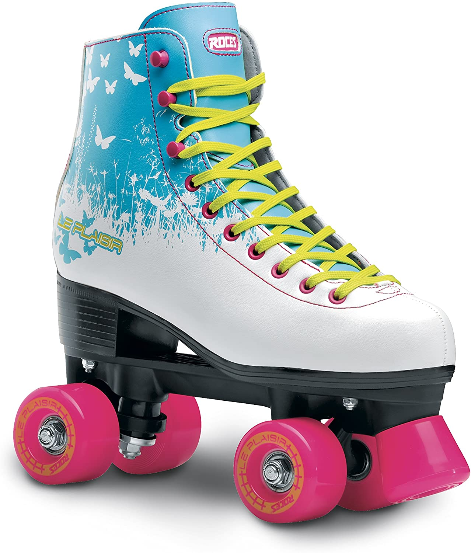 Roces 550059 Model Le Plaisir Roller Skate, US 4M/6W, White