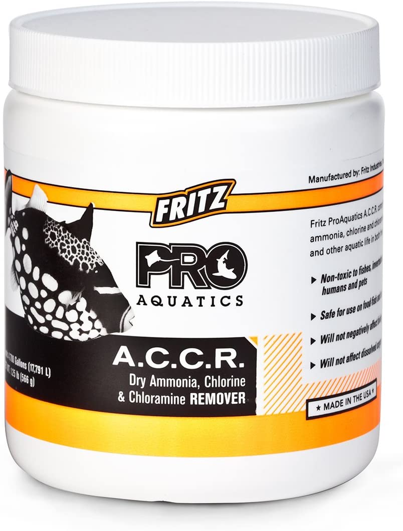 Fritz Aquatics PRO - A.C.C.R. Concentrated Dry Ammonia, Chlorine and Chloramine Remover - 1.25lb