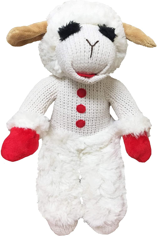 Multipet Lambchop Standing Plush Dog Toy 13