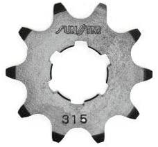 Sunstar 31510 10-Teeth 520 Chain Size Front Countershaft Sprocket