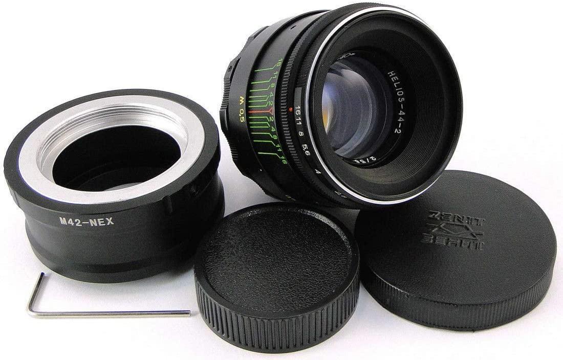 HELIOS 44-2 Russian Lens E-Mount Sony A 7 A7R A7S II III IV A9 a6400 a6600