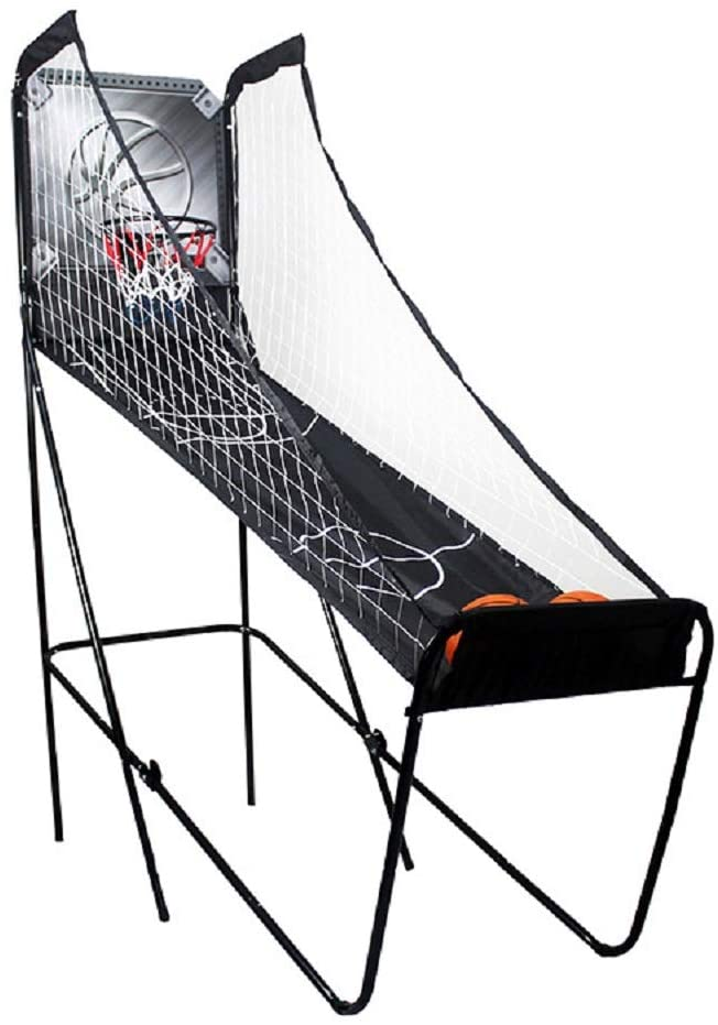 AMAZOM Foldable Basketball Practice Net - Kids Indoor Sports Toys,Basketball Game with Hoop Training System