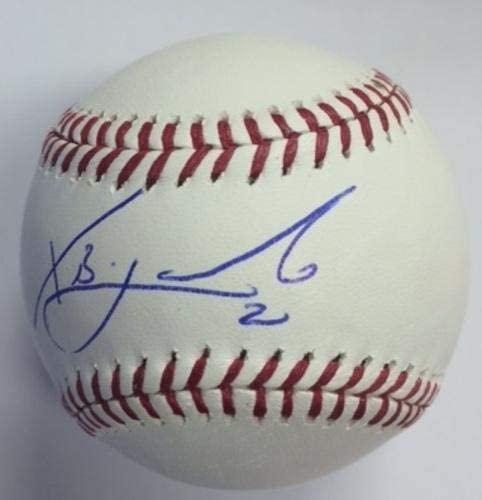Xander Bogaerts Autographed Baseball - Autographed Baseballs