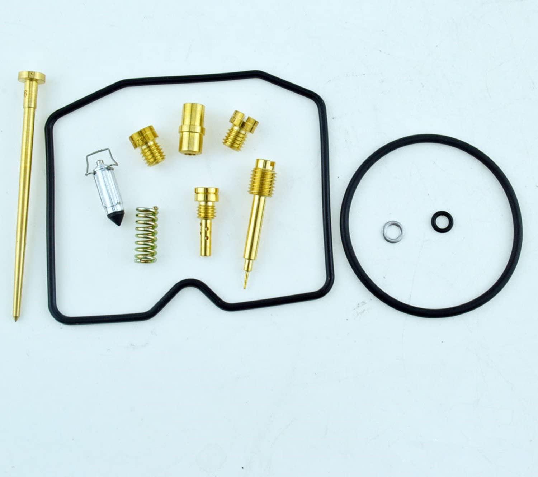 For KAWASAKI 1999-2002 KVF300 Prairie Carburetor Carb Rebuild Repair Kit