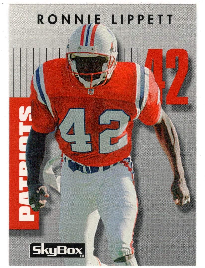 Ronnie Lippett - New England Patriots (Football Card) 1992 Skybox Prime Time # 115 Mint