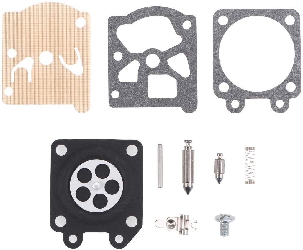 uxcell Carburetor Rebuild Kit Gasket Diaphragm K20-WAT K11-WAT for STIHL 026 MS260 024 MS240 MS270 MS290 MS390 Engines Carb