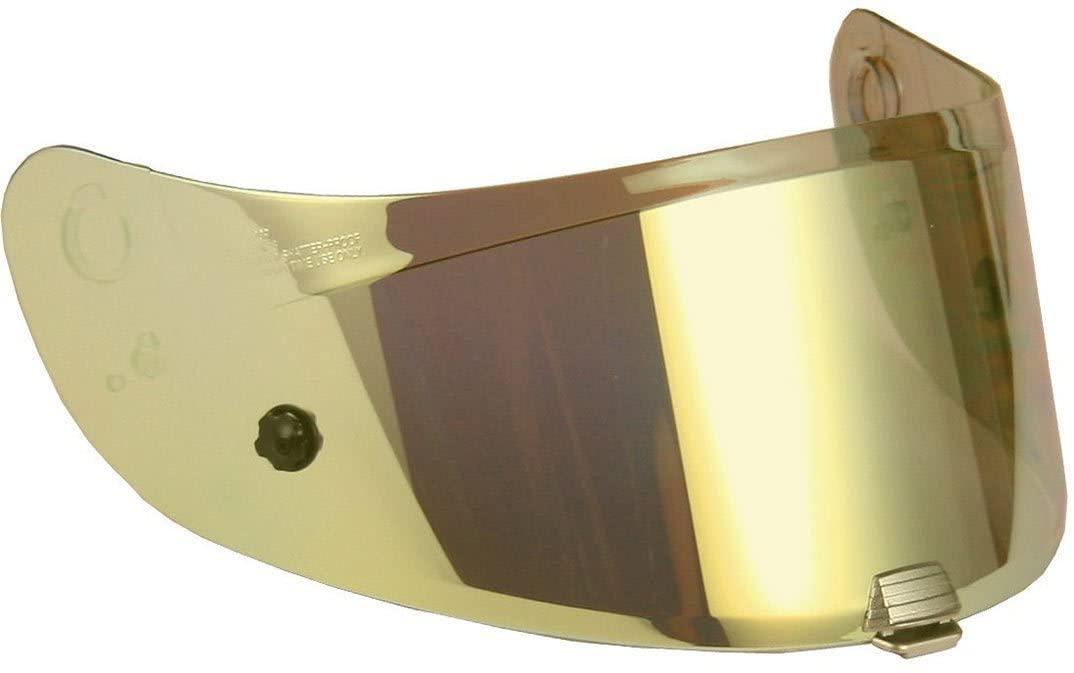 Hjc Iridium Gold Hj-26 Rpha 11-70 Motorcycle Helmet Visor (Default, Gold)