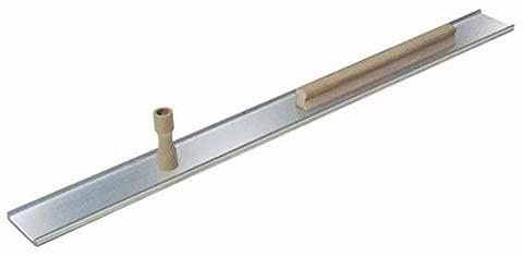 Kraft Tool PL401 Genuine Extra-Lite Smooth Edge Magnesium Darby with 1 Knob and 15-Inch Rib Handle, 48-Inch