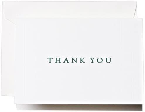 Crane & Co. Letterpress Thank You Notes (CT1331)