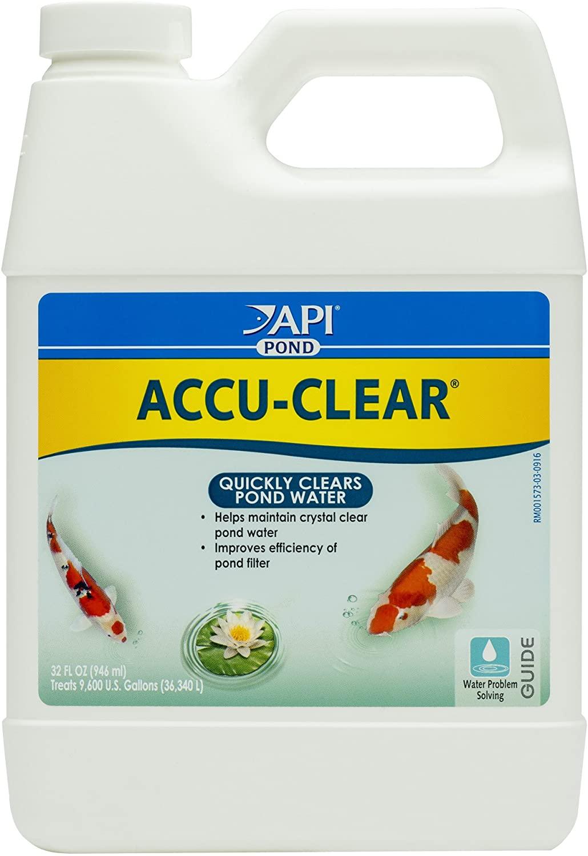 PondCare POND ACCU-CLEAR Pond Water Clarifier 32-Ounce Bottle (142G)