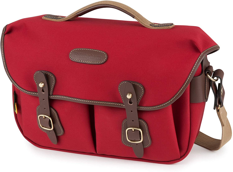 Billingham Hadley Pro 2020 Camera Bag (Burgundy Canvas/Chocolate Leather)