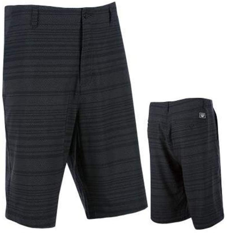 Fly Racing Unisex-Adult Hybrid Shorts (Black, Size 38)