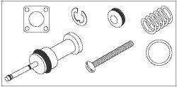 Vacuum Drain Knob Service Kit for A-dec ADK033