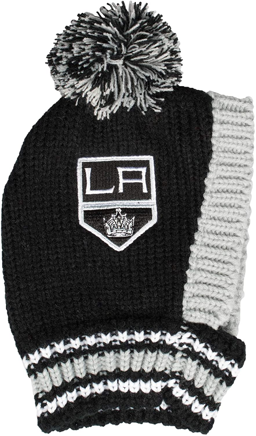 Littlearth NHL Los Angeles Kings Team Pet Knit Hat, Small