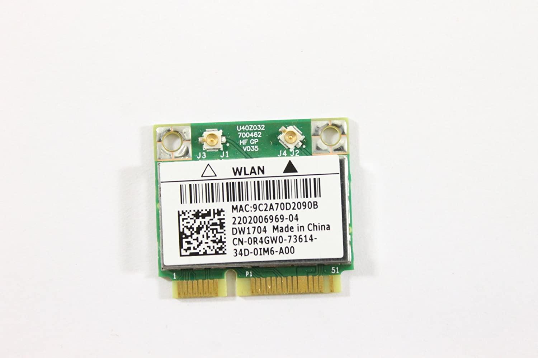 Dell Mini PCI Express Half Height R4GW0 WLAN WiFi 802.11n and Bluetooth DW1704 Wireless Card BCM9431