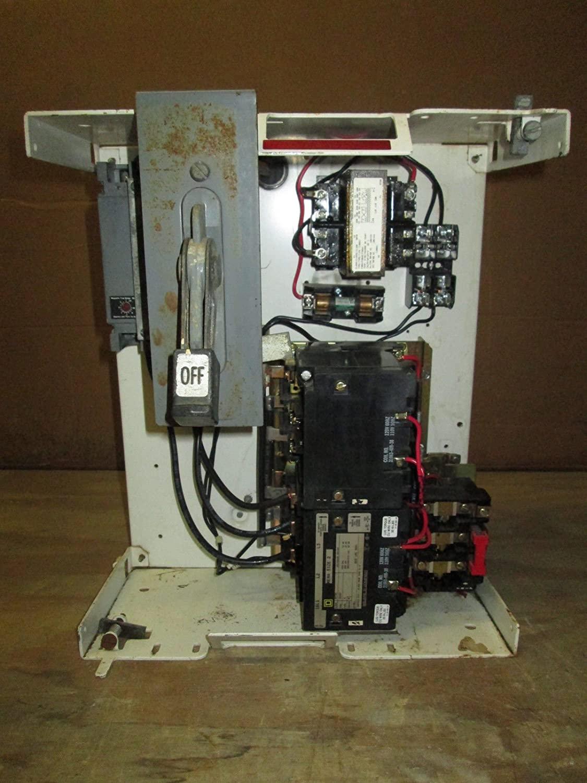 CH F10 Unitrol MCC Bucket MCCB Breaker 50 Amp Size 2 Square D Reversing Starter