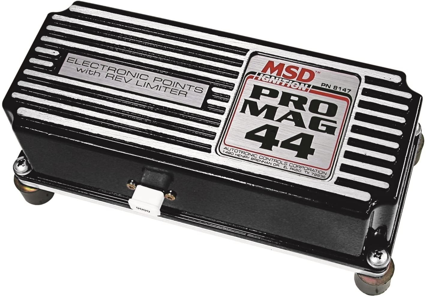 MSD 81473 Black Pro Mag 44 Points Box with Rev Limiter