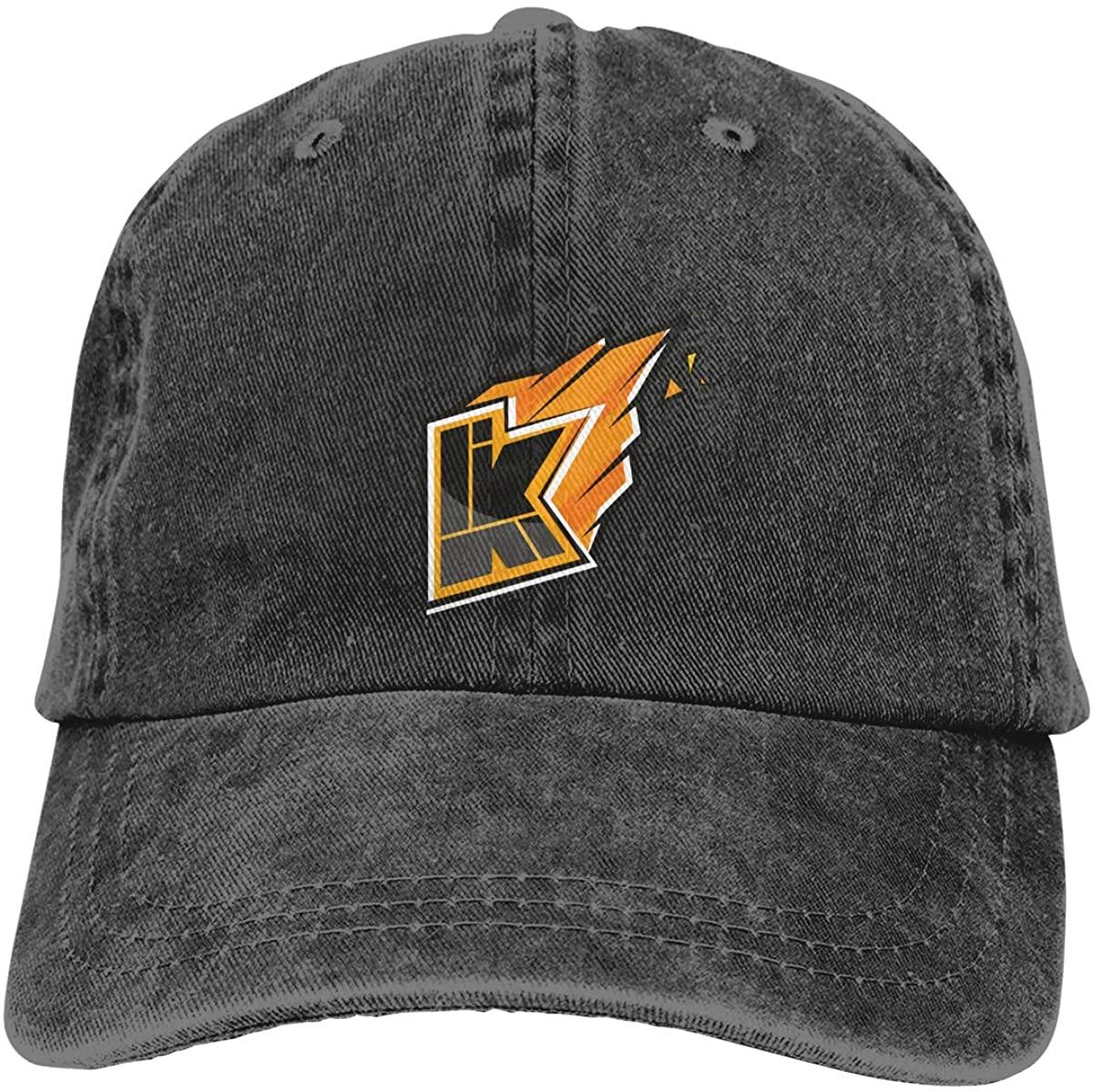 NOT Kwe-Bbelkop Logo Adjustable Unisex Hat Baseball Caps Black