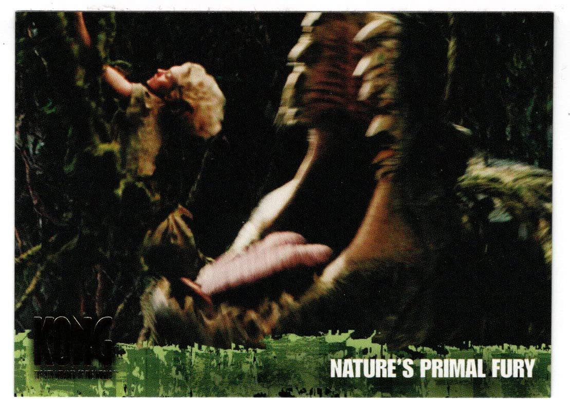 Natures Primal Fury - King Kong: The 8th Wonder of the World (Trading Card) # 51 - Topps 2005 Mint