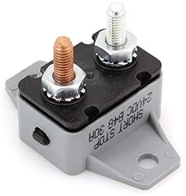 Short Stop Circuit Breaker 30A Right Angle Bracket Type 3 24V