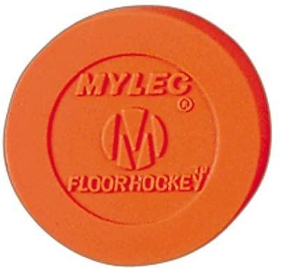 Mylec Hollow Floor Hockey Pucks - Set of 6 Pucks