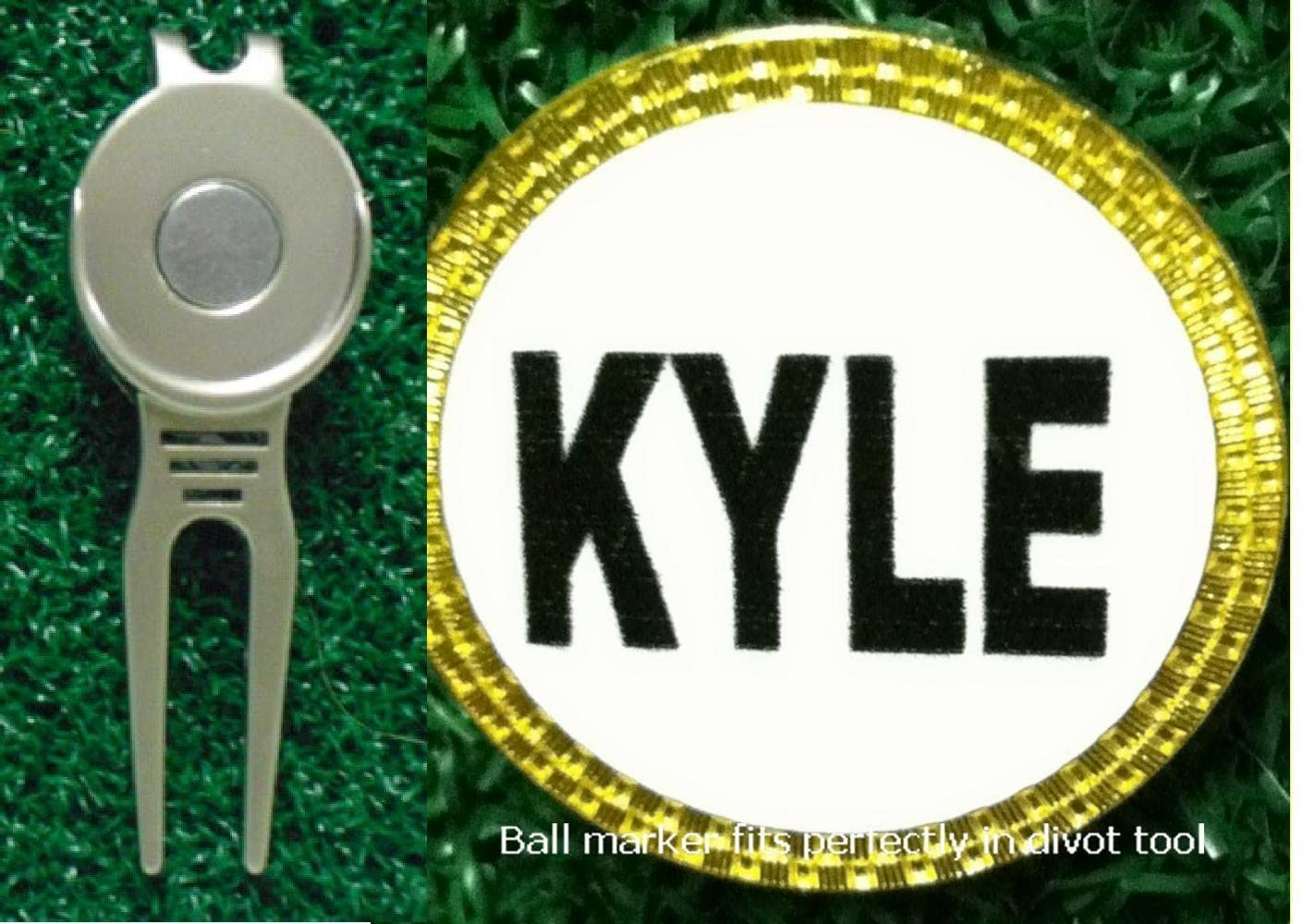Gatormade Personalized Golf Ball Marker & Divot Tool Kyle