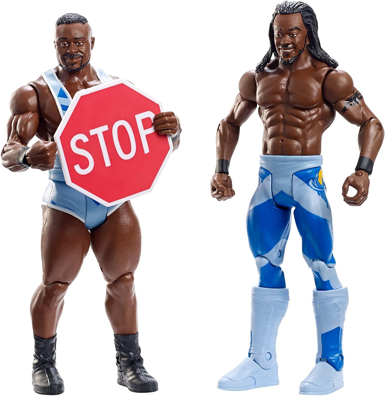 WWE Battle Pack Series #36: Big E vs. Kofi Kingston Action Figure (2-Pack)