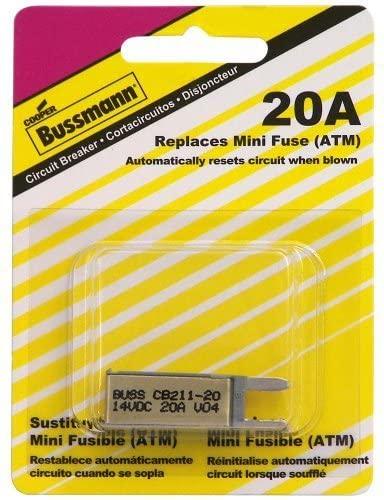Bussmann BP/CB211-20 Circuit Breaker