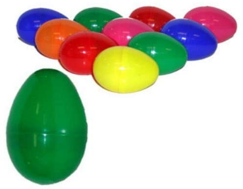 60 EMPTY PLASTIC EASTER VENDING EGGS 2.25 INCH - by CherishedMoments