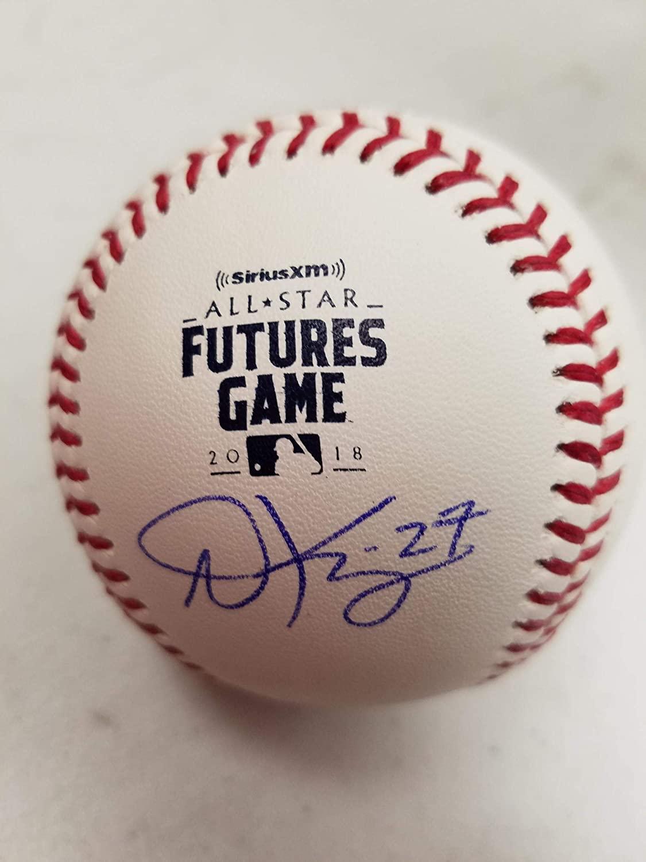 Andrew Knizer Autographed 2018 Futures Logo Baseball - Autographed Baseballs