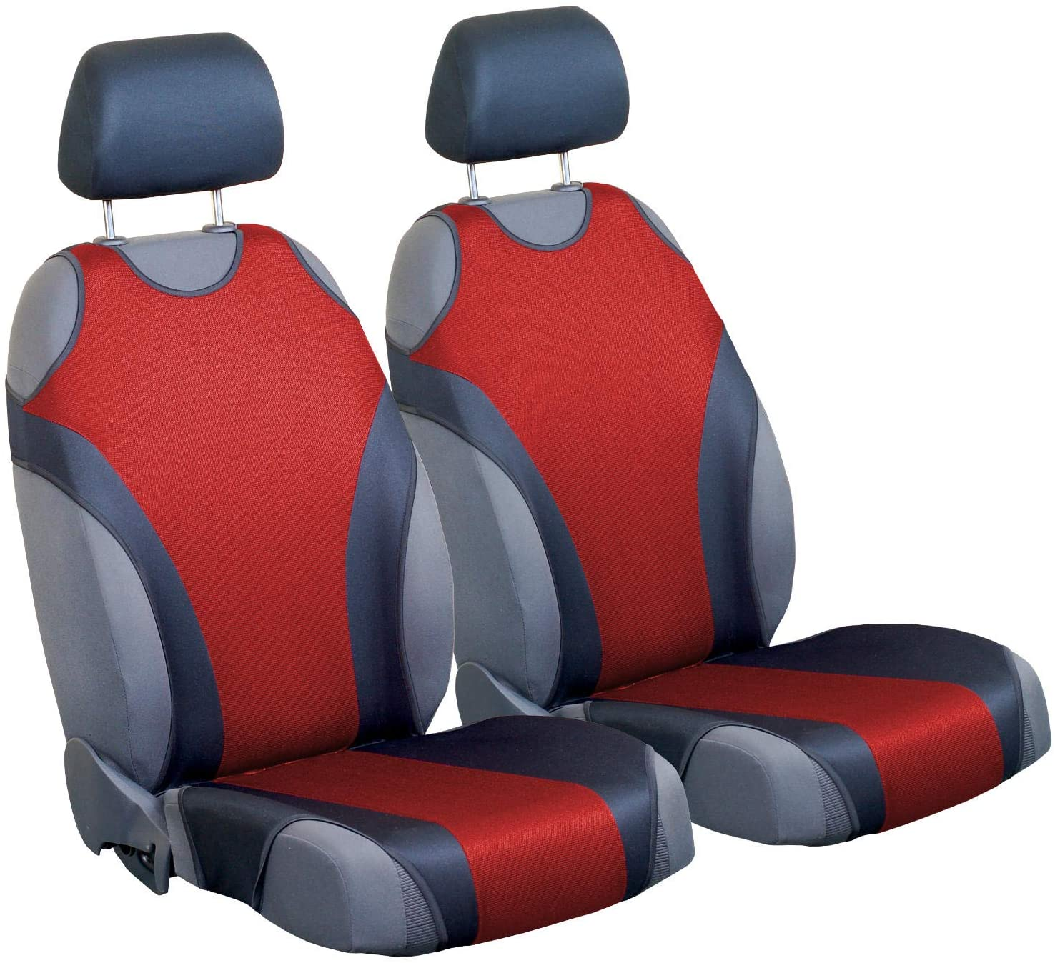 Zakschneider Car Seat Covers for X5 - Front Seats - Color Premium Red & Black