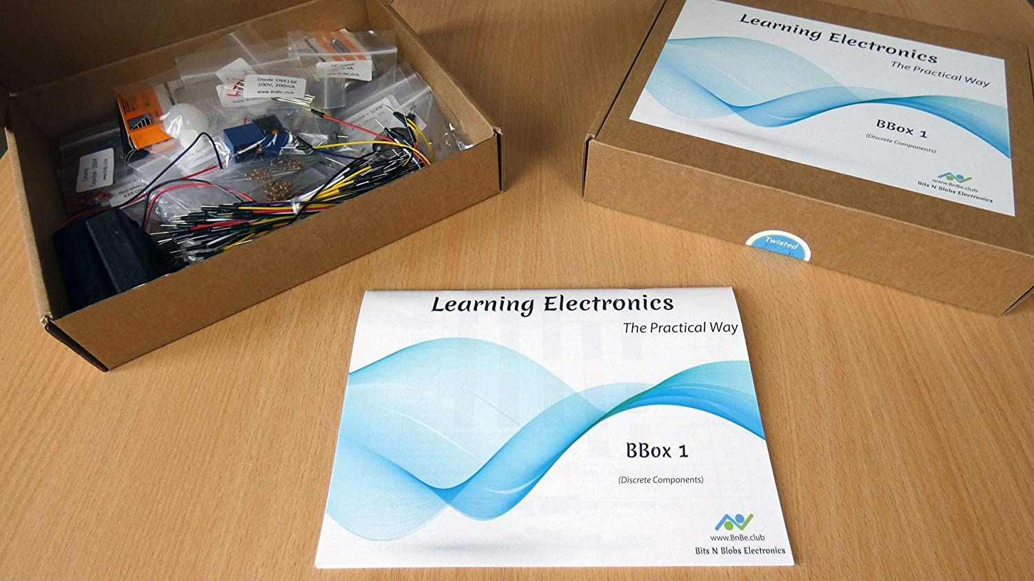 BBox 1 (Discrete Components) : Learn Electronics The Practical Way