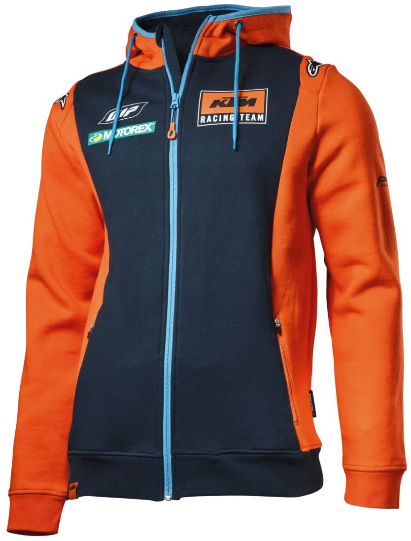 KTM Replica Team Zip Hoodie Medium 3PW1854003