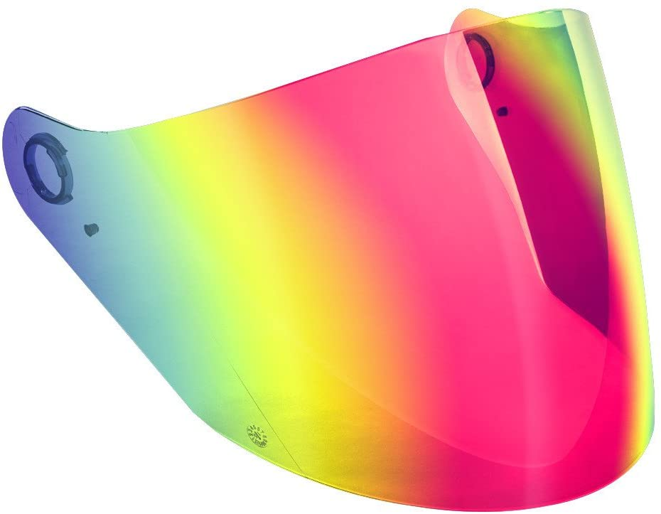 GMAX Red Iridium Single Lens Shield for GM-67 and OF-77 Helmets G067022