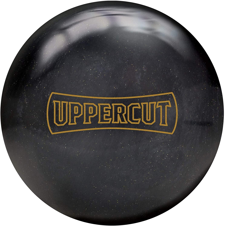 Brunswick Uppercut 14lb, Black/Gold Sparkle