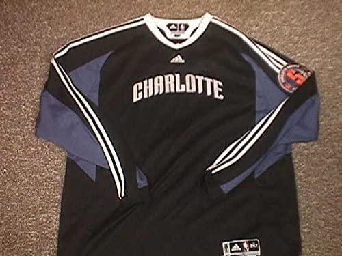 D.J Augustin Charlotte Bobcats 5th Year Patch Shooting Shirt