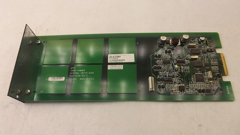 APC, Thors Hammer SYCSGMON, 640-412OB External Switch Gear Monitor T28748