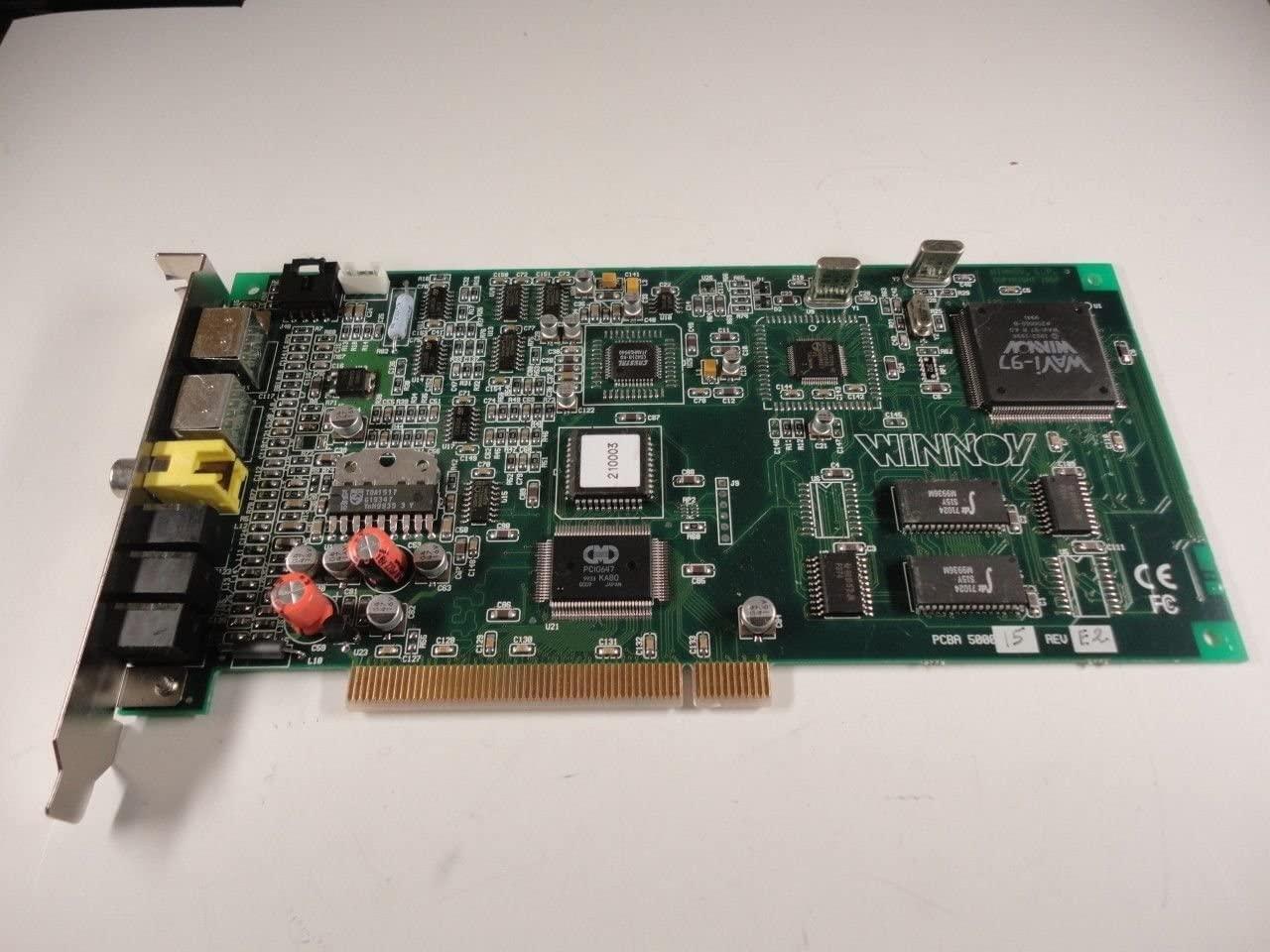 WINNOV - Sound Card PCI WINNOV PCBA 500015 REV E2 DP/N 0544HR