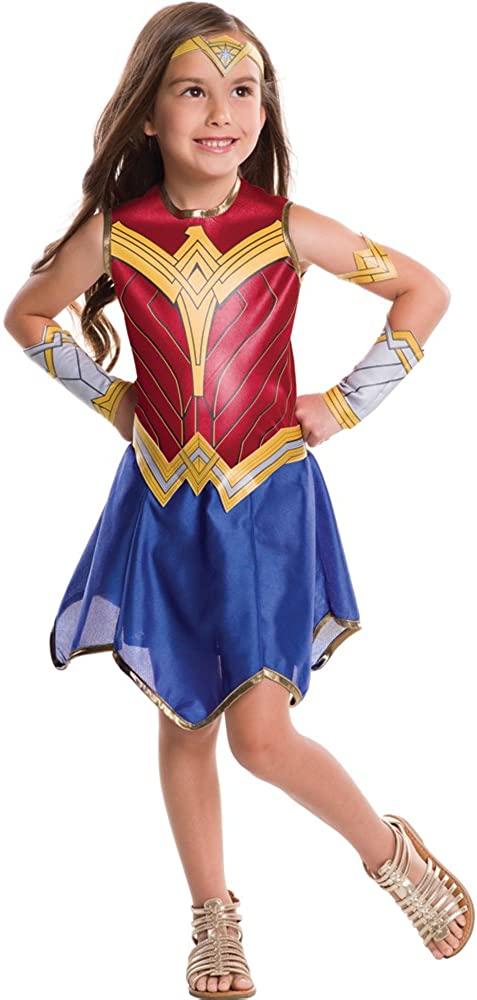 Girls Wonder Woman Movie Costume size Small 4-6
