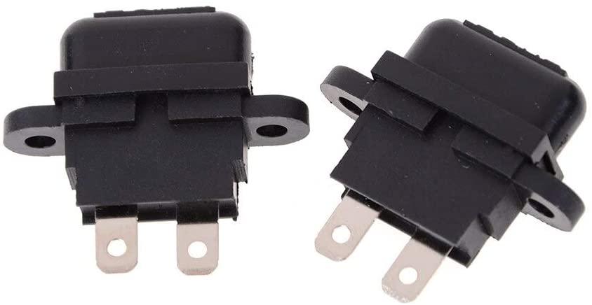 Chavis 2 Fuse Holder Medium Size Car Auto Plug In Fuse Automotive Fuse Holder Waterproof