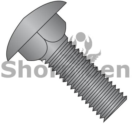 5/16-18X4 1/2 Carriage Bolt Fully Threaded Black Oxide and Oil - Box Quantity 300 by Shorpioen BC-3172CB
